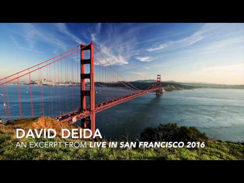 David Deida - an excerpt from Live in San Francisco 2016 - Pt. 1