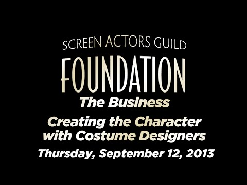 The Business: Creating the Character with Costume Designers