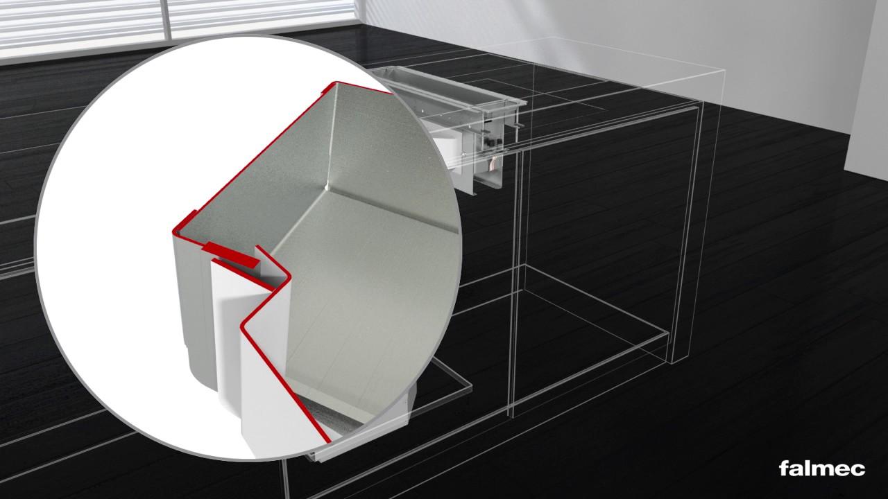 Falmec Montageanleitung Piano Einzelabsaugung De Youtube