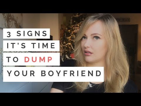 BREAKUP ADVICE: 3 Signs Its Time To Dump Your Boyfriend—Even If Hes Nice! | Shallon Lester