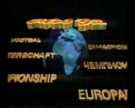 UEFA Euro '92 (Sweden) - TV Intro