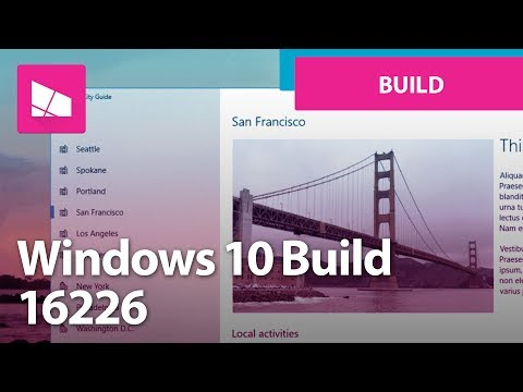 Windows 10 Build 16226 - Fluent Design UI, Settings, Gaming, Emoji, Keyboard + MORE