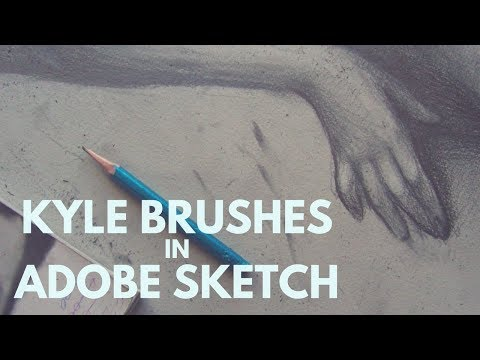 Adobe Sketch and Kyle Brushes - Together!   The Digital Painter