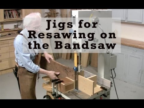 Jigs for Resawing on the Bandsaw