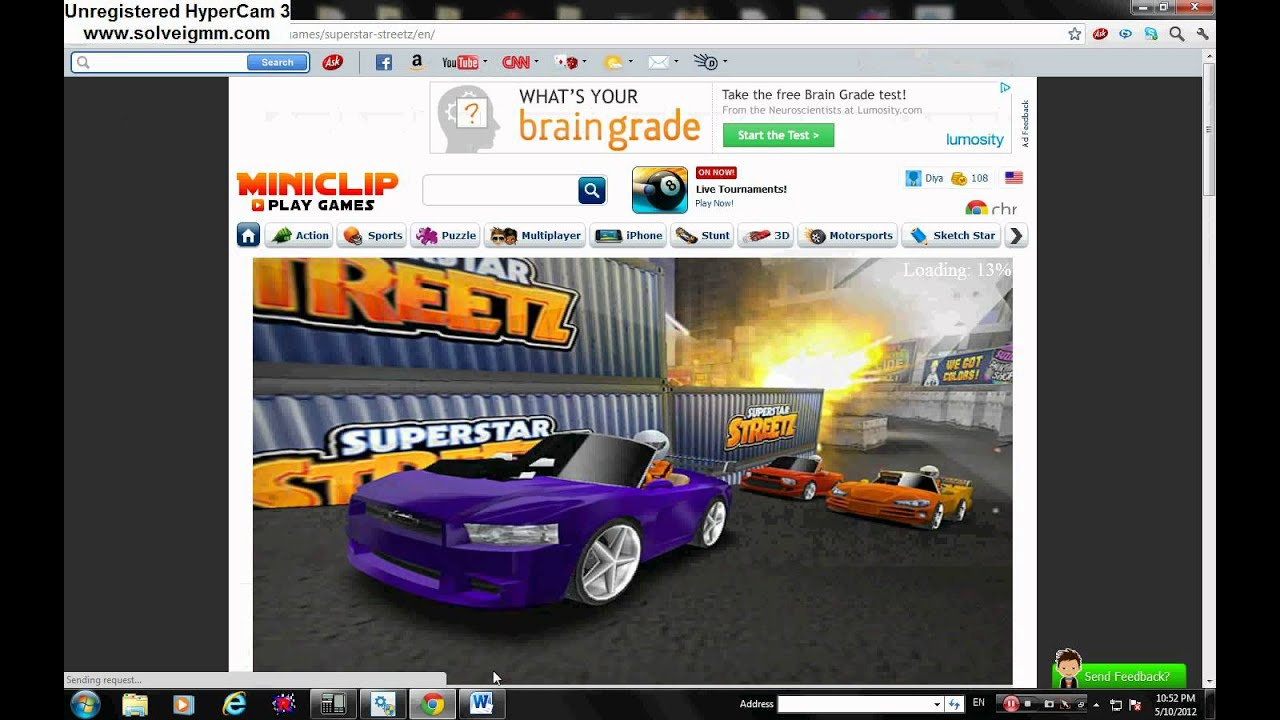 Some miniclip free (download) online games - YouTube