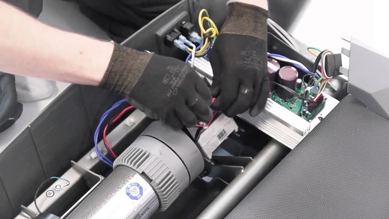 comment changer le moteur sur les tapis de course tc4 et tc5