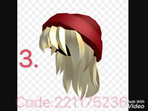 HAIR CODES (ROBLOX) 1# of roblox codes - YouTube