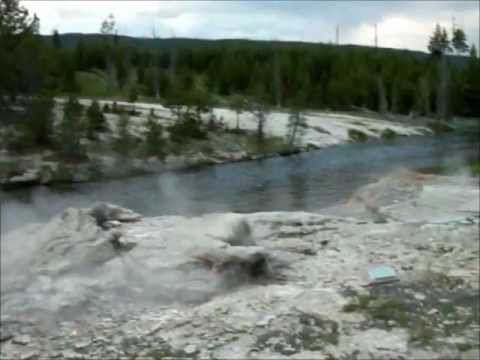 Yellowstone-Geyser Hill and Fire Lake