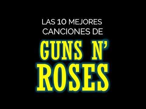 Las 10 mejores canciones de GUNS AND ROSES