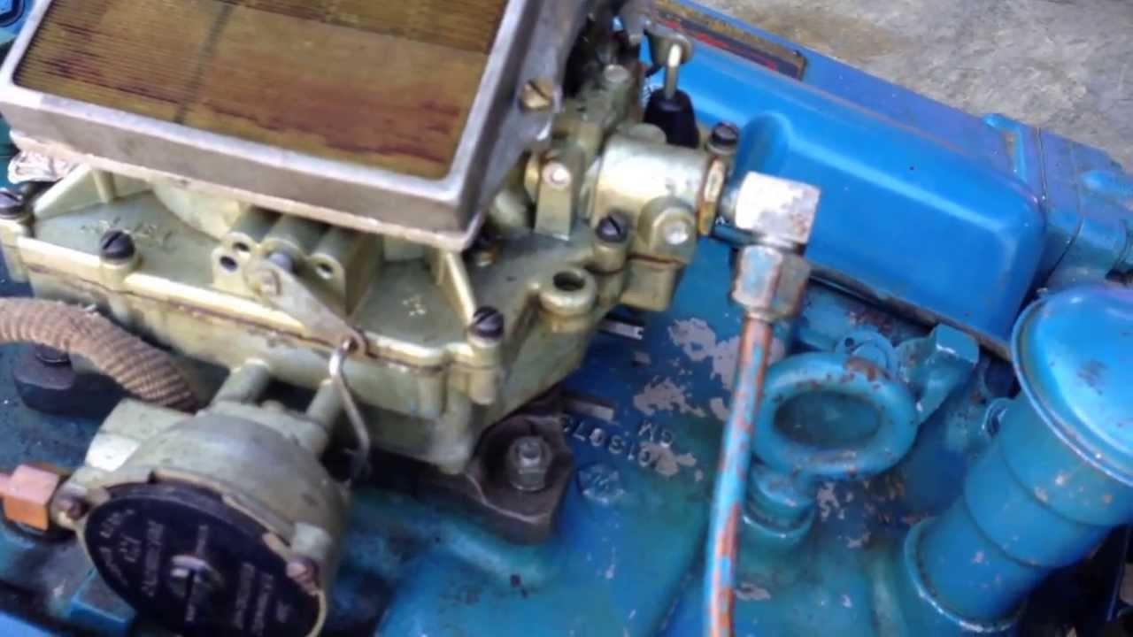 hight resolution of the most original chris craft 283 engine 1961