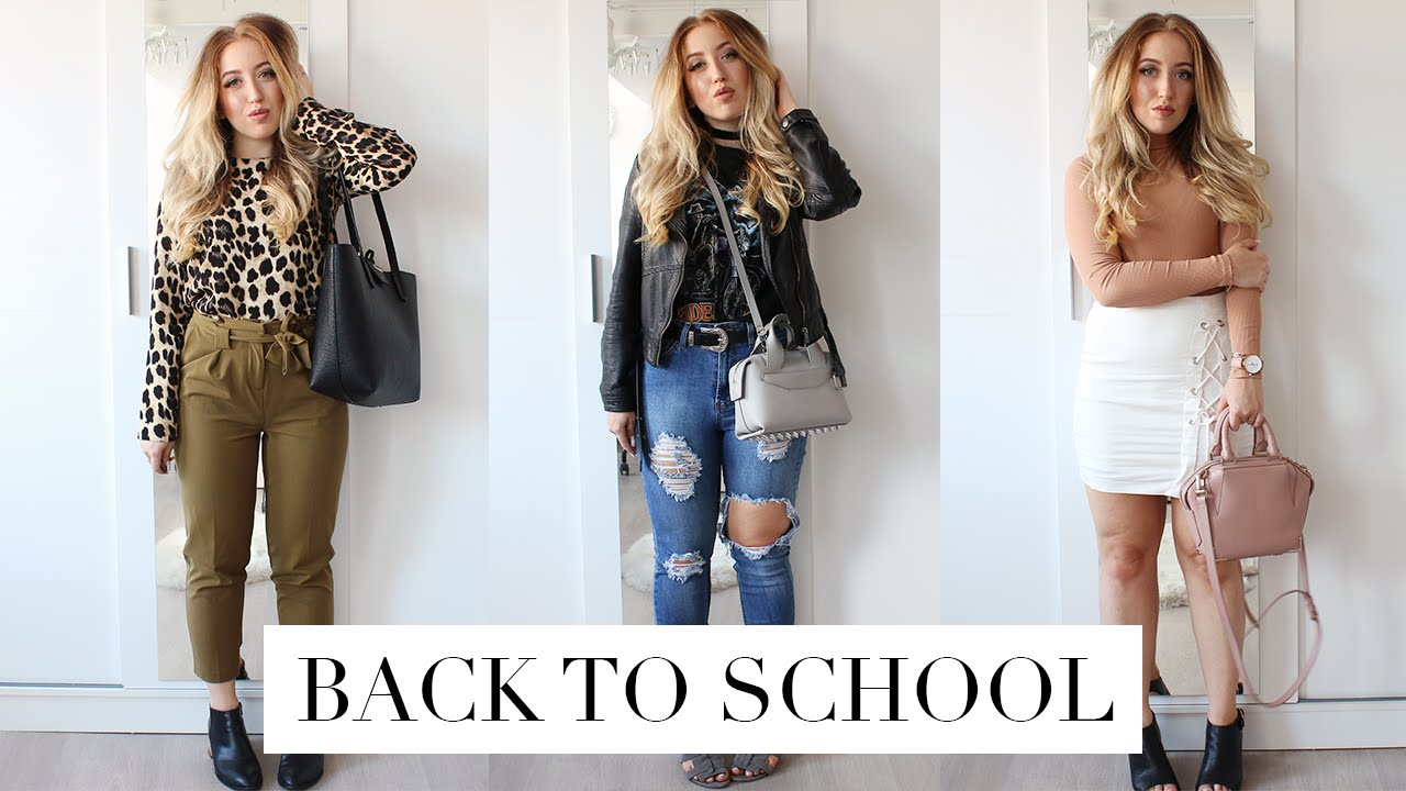 back to law schooluniversity outfit ideas  youtube
