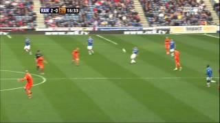 Sone Aluko (1st Goal) - Rangers Vs Dundee Utd (SPL) 2nd May 2012