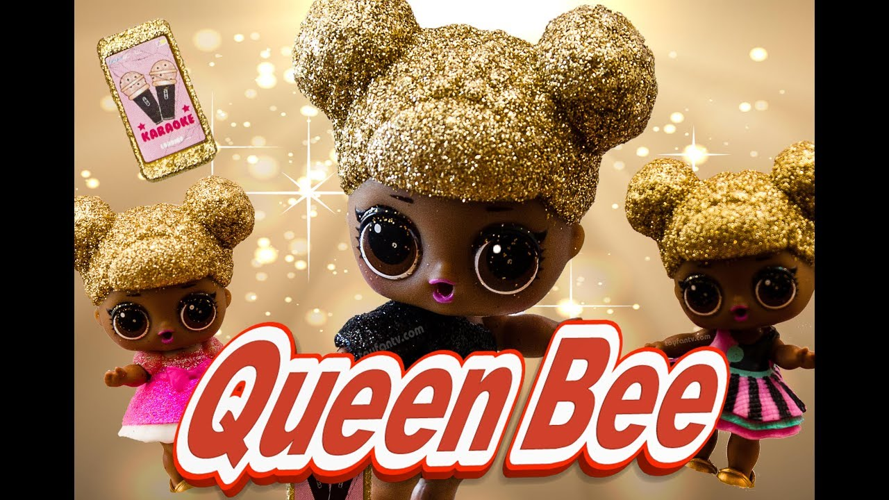Utral RARE LOL Surprise QUEEN BEE WITH BAT girl Doll lil toy Jouets