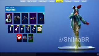 [PATCH 6.21] CRAZY FEET DANCE EMOTE! [IN-GAME] FORTNITE BATTLE ROYALE