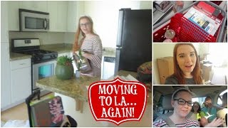 MOVING TO LA... AGAIN! New Apartment Tour, Target & Friends (SS #11)