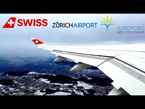 Swiss Airlines Bombardier Cseries 100 HB-JBC I Zurich to Nice I *Full Flight*