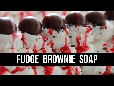 Fudge Brownie Chocolate Soap (+ WE ARE MOVING!) | Royalty Soaps