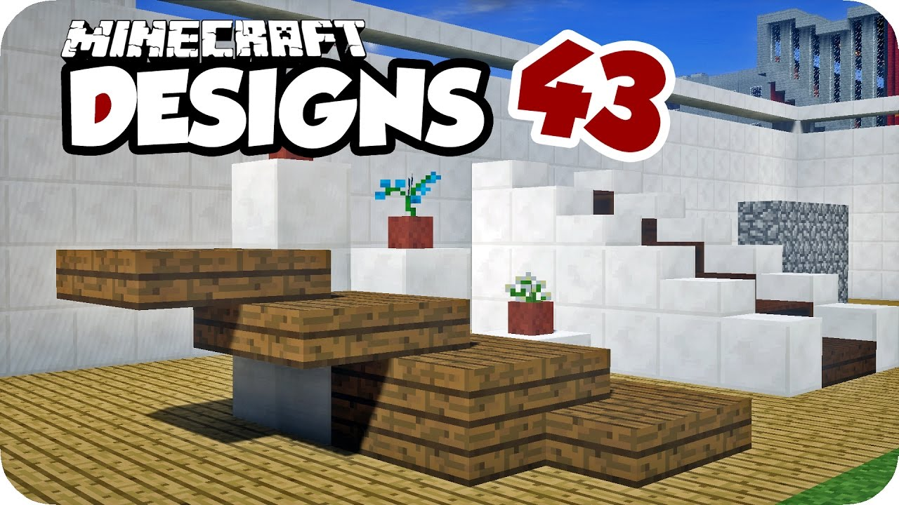 Regal Und Treppen Minecraft Designs 43