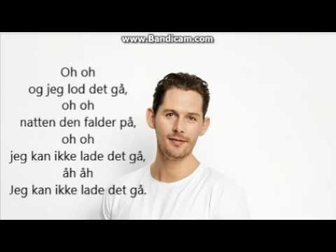 Rasmus Seebach Natten falder på med tekst