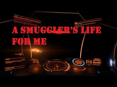 Mini Plays Elite Dangerous EP 19: A Smuggler's Life For Me