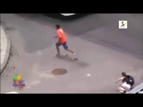 Crime on brazilian street