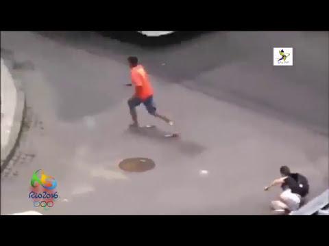 Crime on brazilian street