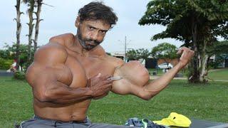 Топ 7 Мъже с Най-ИЗКУСТВЕНИТЕ Мускули в Света