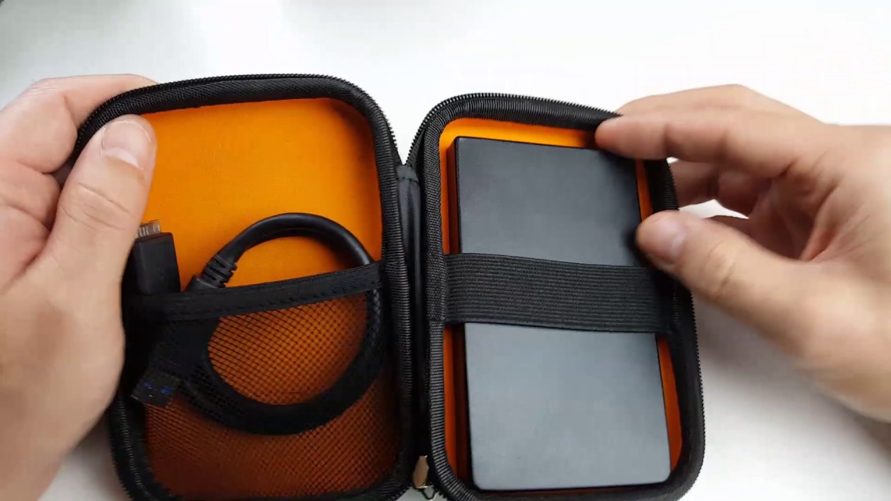 Portable Hard Drive Case Review for WD My Passport, Seagate, etc - YouTube