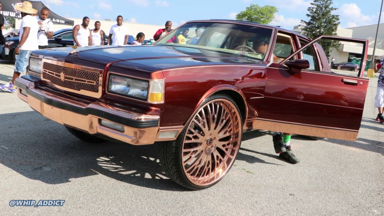 WhipAddict: Kandy 89' Chevy Caprice LS with Rose Gold Trim and Rose Gold  Forgiato 28s! The Box King?