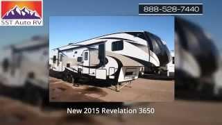 Toy Hauler for Sale in Mesa AZ - New 2015 Revelation 3650