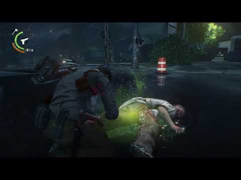 The Evil Within® 2 killing zombies