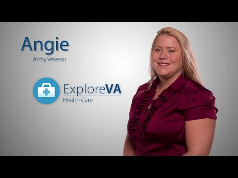 VA treatment helped save Angie from a life of addiction.