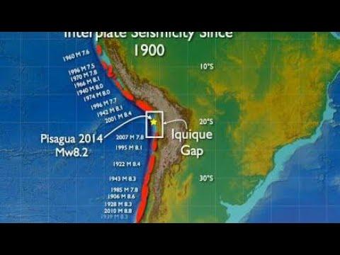 Mega Terremoto de 10.7 vai sacudir países da América Do sul inclusive,o Brasil alerta cientístas.