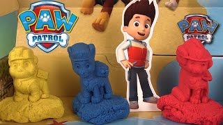 Pat' Patrouille Sable Plage de la Grande Vallée Paw Patrol Kinetic Sand Adventure Bay Beach