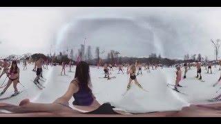 Видео 360: «Спуск в купальниках» со склонов «Розы Хутор»(Ощутите себя среди более тысячи участников фестиваля-карнавала «BoogelWoogel» в Сочи, которые спустились со..., 2016-04-12T13:17:17.000Z)