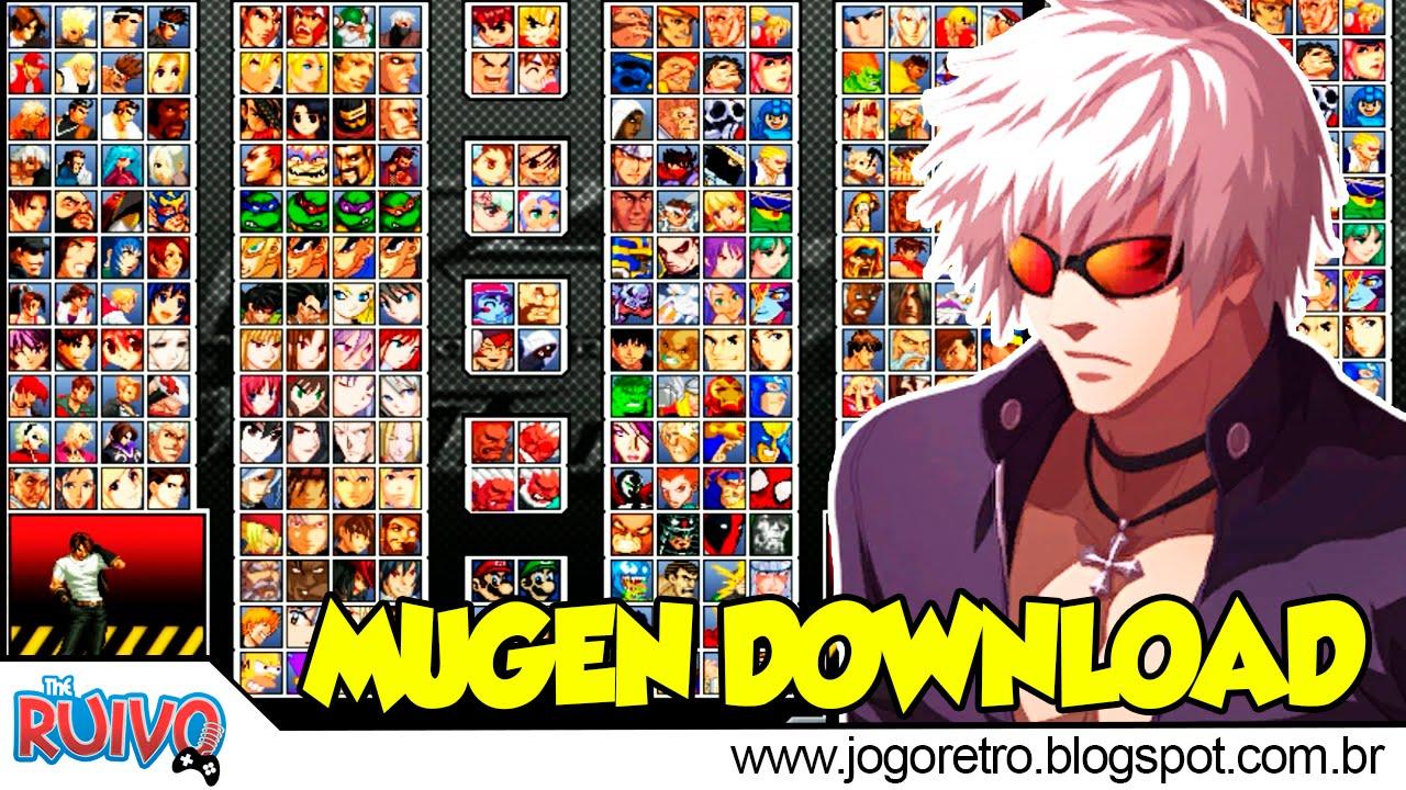download kof ultimate mugen gold edition