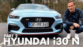 Hyundai i30N  Teil 2   Über 250 km/h auf der Autobahn   Matthias Malmedie