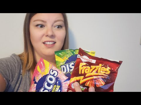 Americans Try British Food And Crisps For The First Time