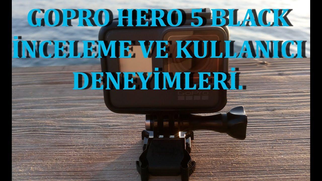 4K GOPRO HERO 5 BLACK FARKLI BİR İNCELEME