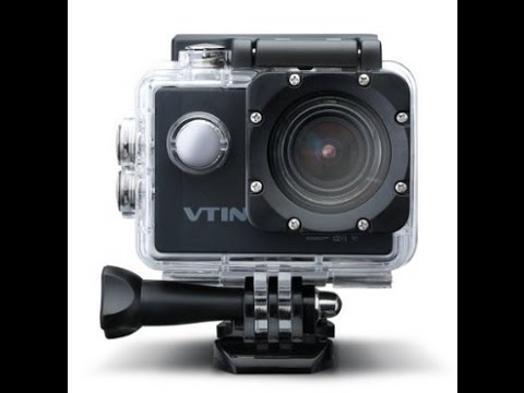 VTin 2,0 Zoll Full HD 1080p 12MP WIFI Actioncam Test 170°Weitwinkel