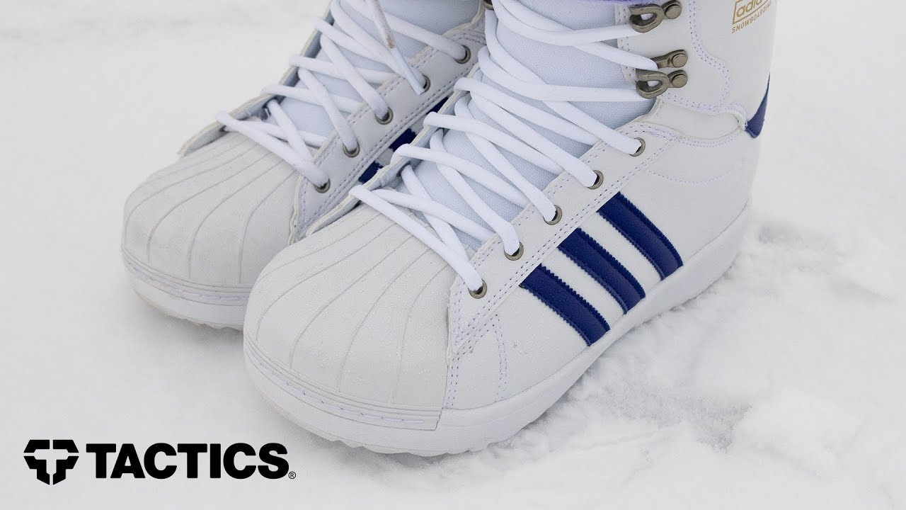 2017 2018 | Adidas Superstar ADV Snowboard Boots | Video Review