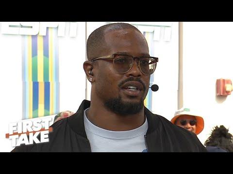 Von Miller Talks Super Bowl LIV Prediction And The Broncos' 7-9 Season With Drew Lock | First Take
