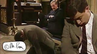 Sleeping at Church | Mr. Bean Official