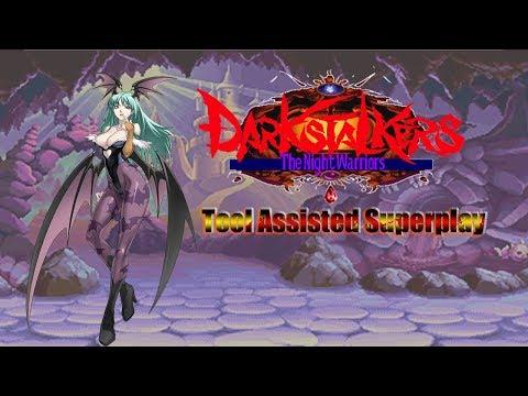 Darkstalkers: The Night Warriors - Morrigan【TAS】