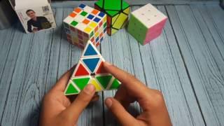 Видео урок как собрать пирамидку рубика