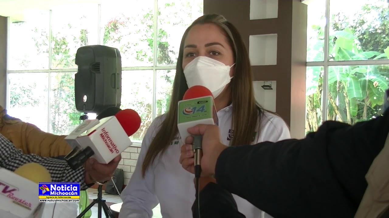 Presidenta del DIF municipal invita a vacunarse contra la influenza en los Centros de Salud