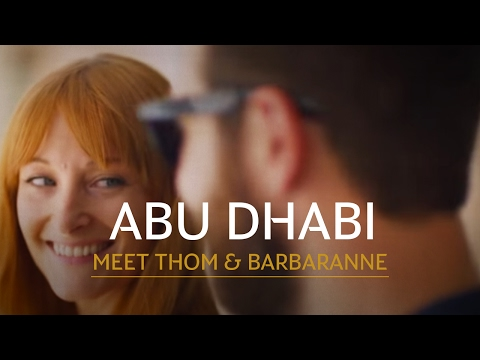 Thom and Barbaranne  Flying First Class to Abu Dhabi with Etihad Airways