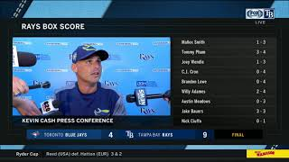POSTGAME REACTION: Tampa Bay Rays vs Toronto Blue Jays 09/30/2018