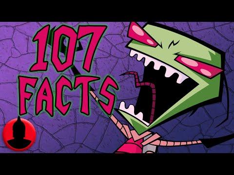107 Invader Zim Facts - (ToonedUp #170) | ChannelFrederator