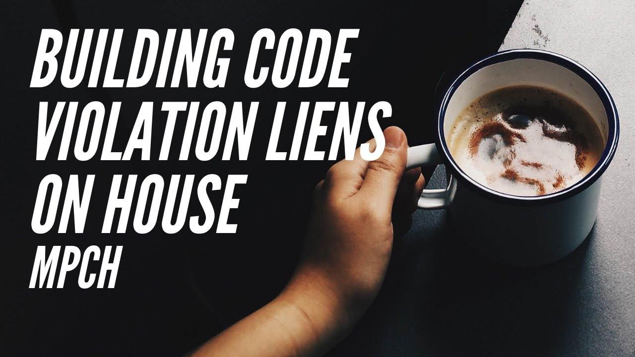 Building Code Violation Citation - Chicago - Cook County